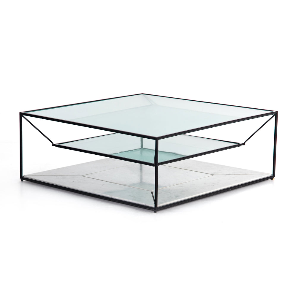 BASILIO COFFEE TABLE-MATTE BLACK