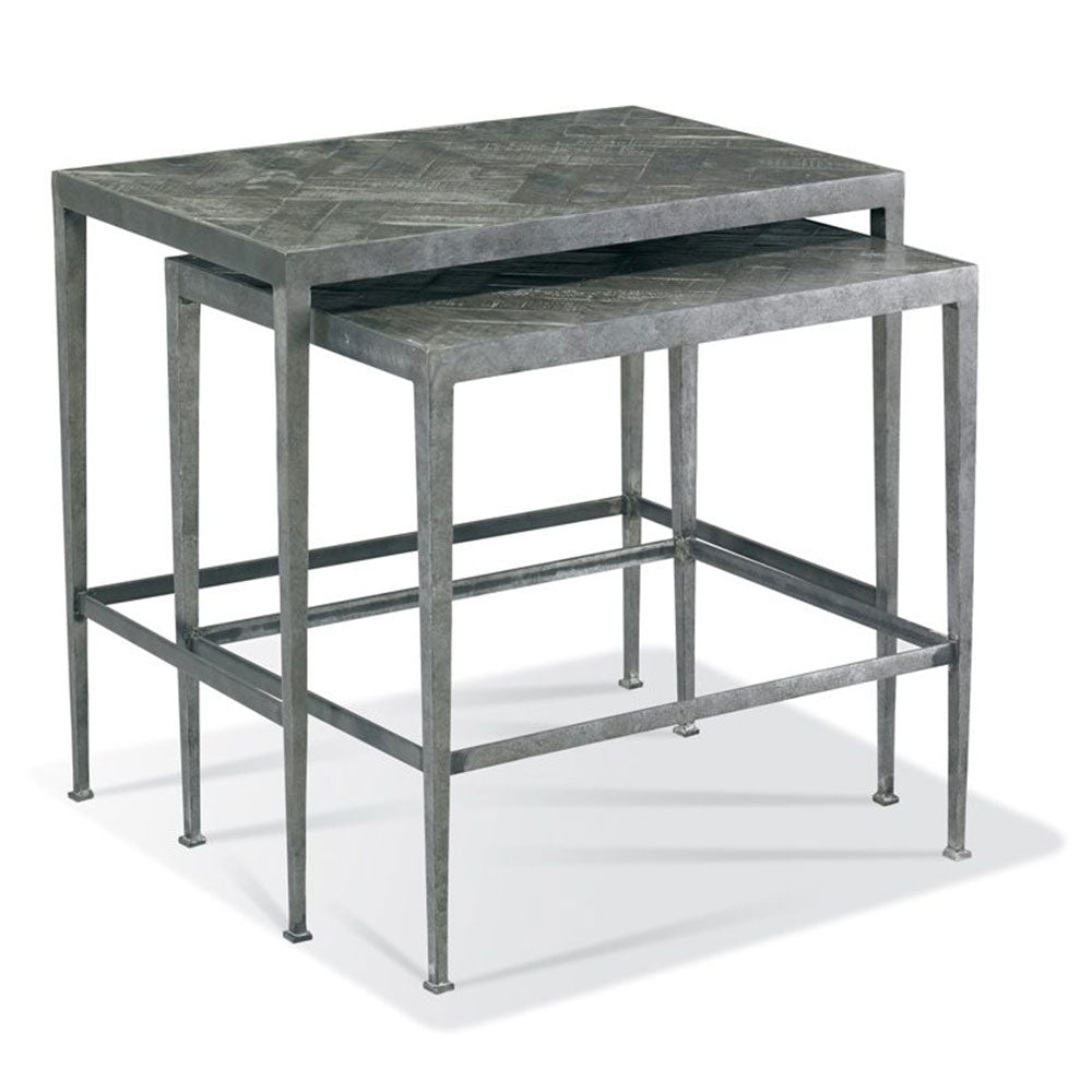 Nesting End Table, Black - Interior Living