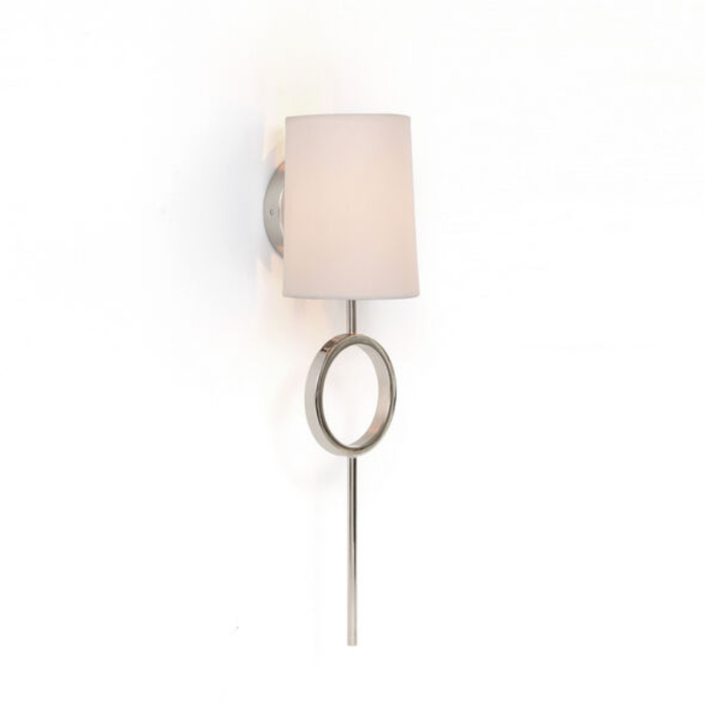 Marco Sconce - Polished Nickel White Shade