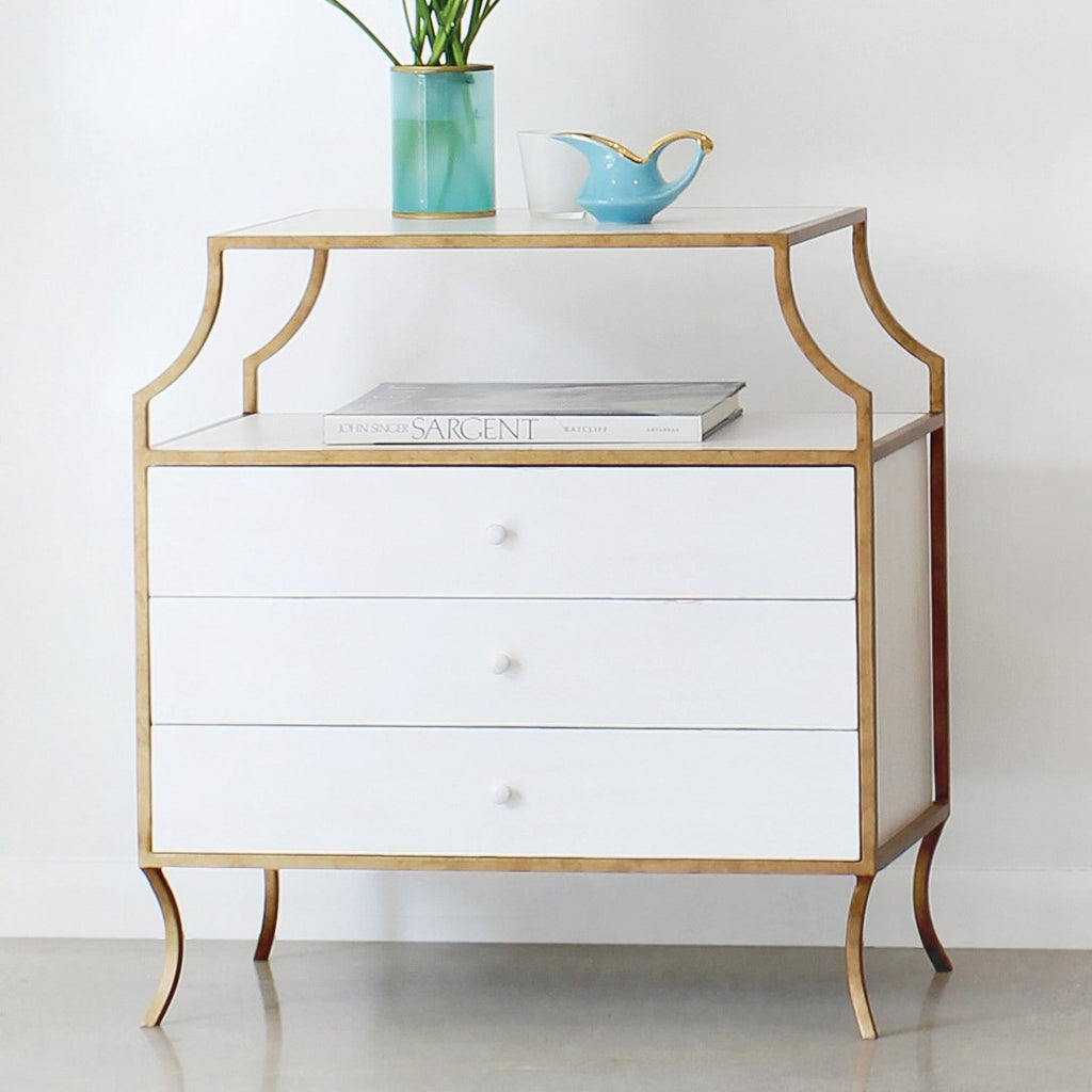 Milla Nightstand with Drawers