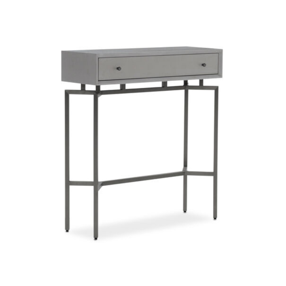 Ming Console - Gray / Pewter