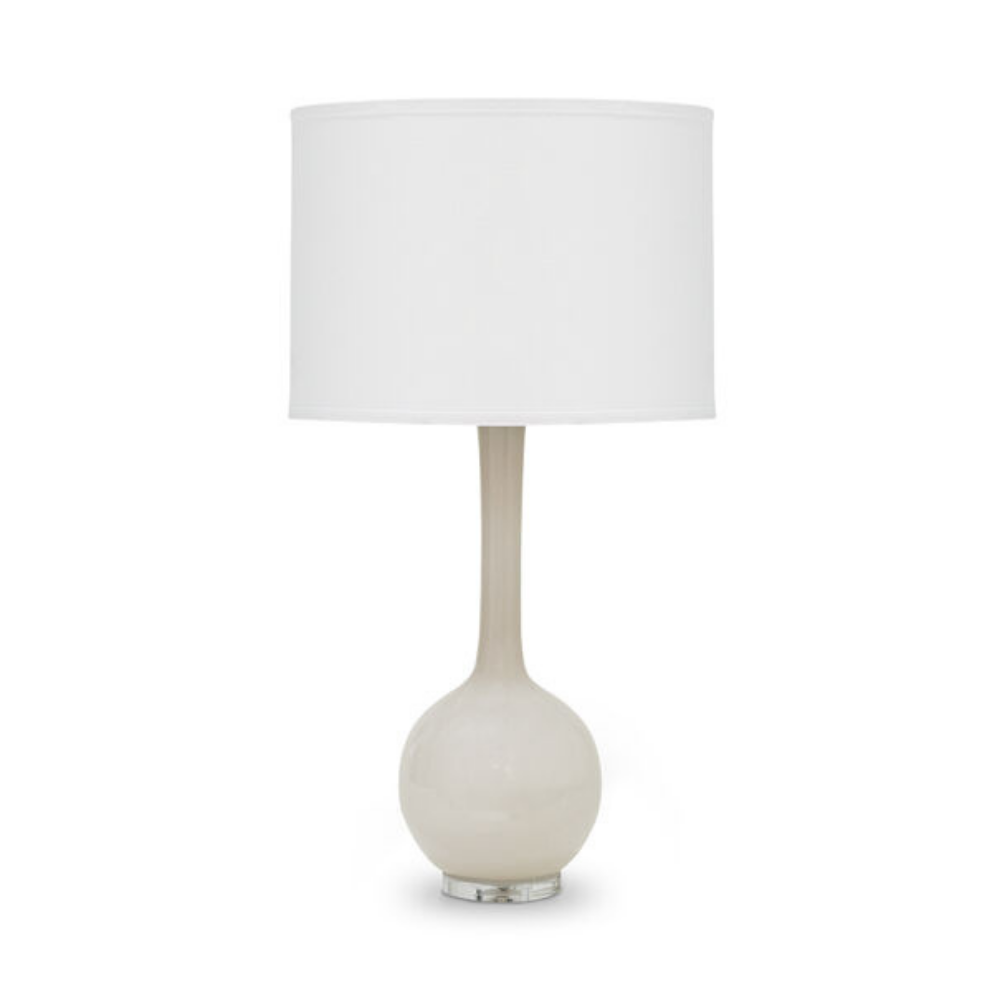 Rosey Glass Table Lamp