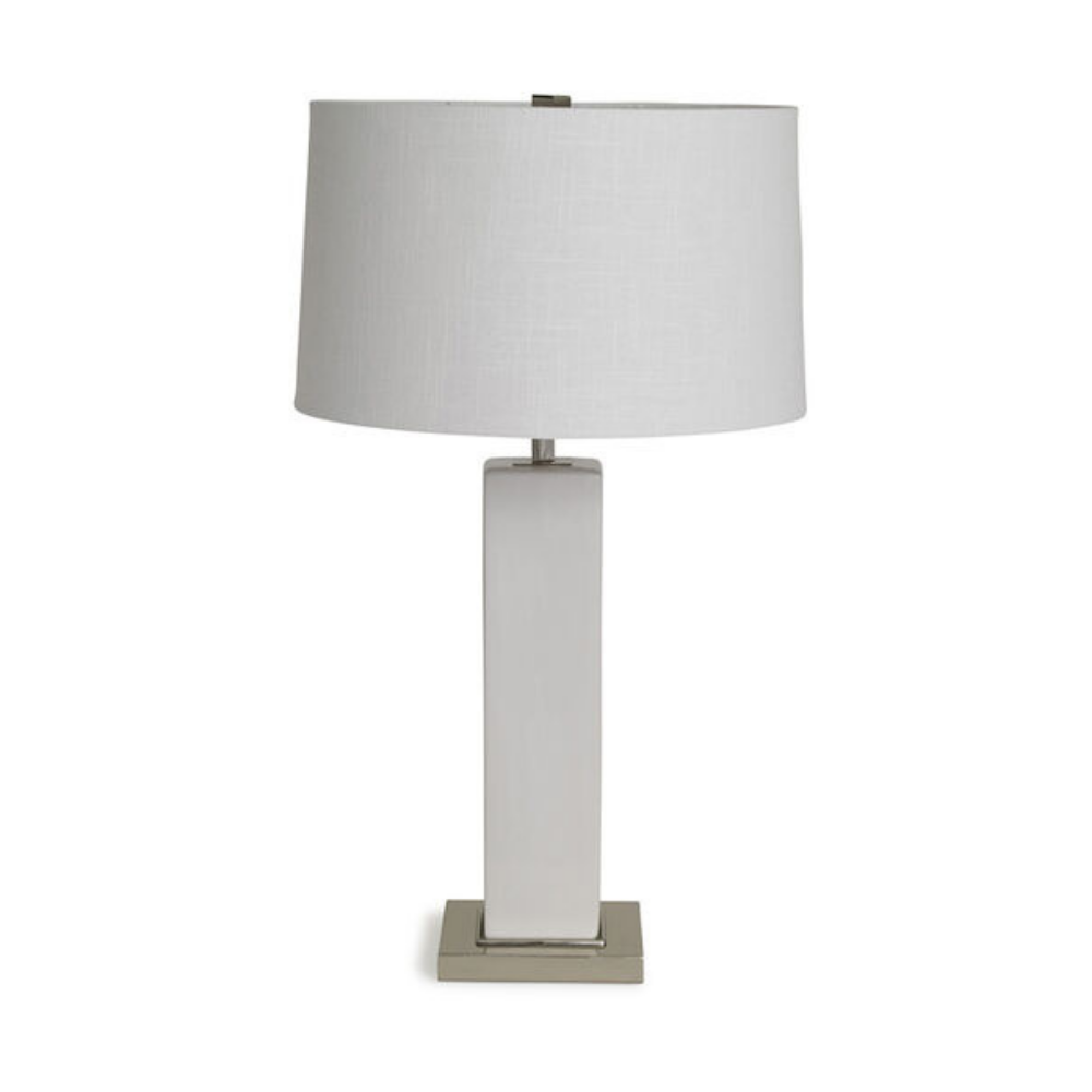 Rubix Lily White Table Lamp