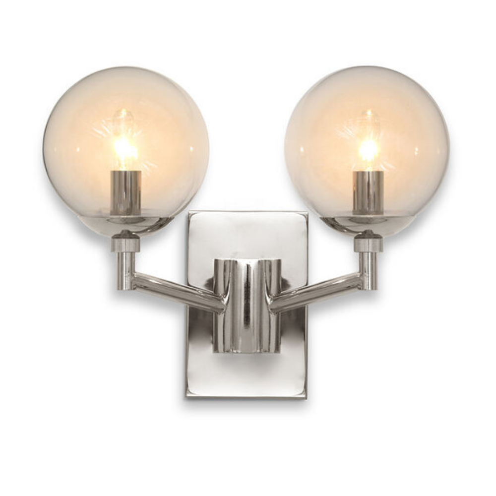 Savoy Sconce - Polished Nickel