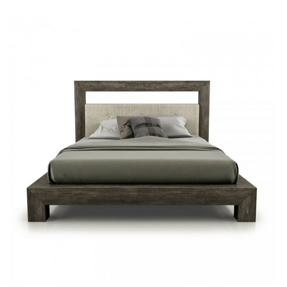 Cloe Wood Frame Bed - Interior Living