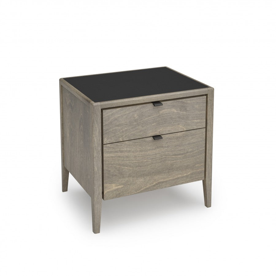 Edmond Two Drawer Nightstand