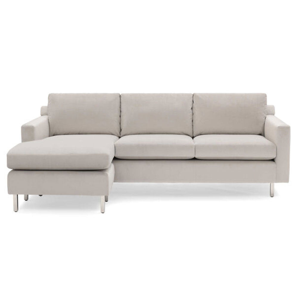 Hunter Studio No Welt Left Chaise Sectional