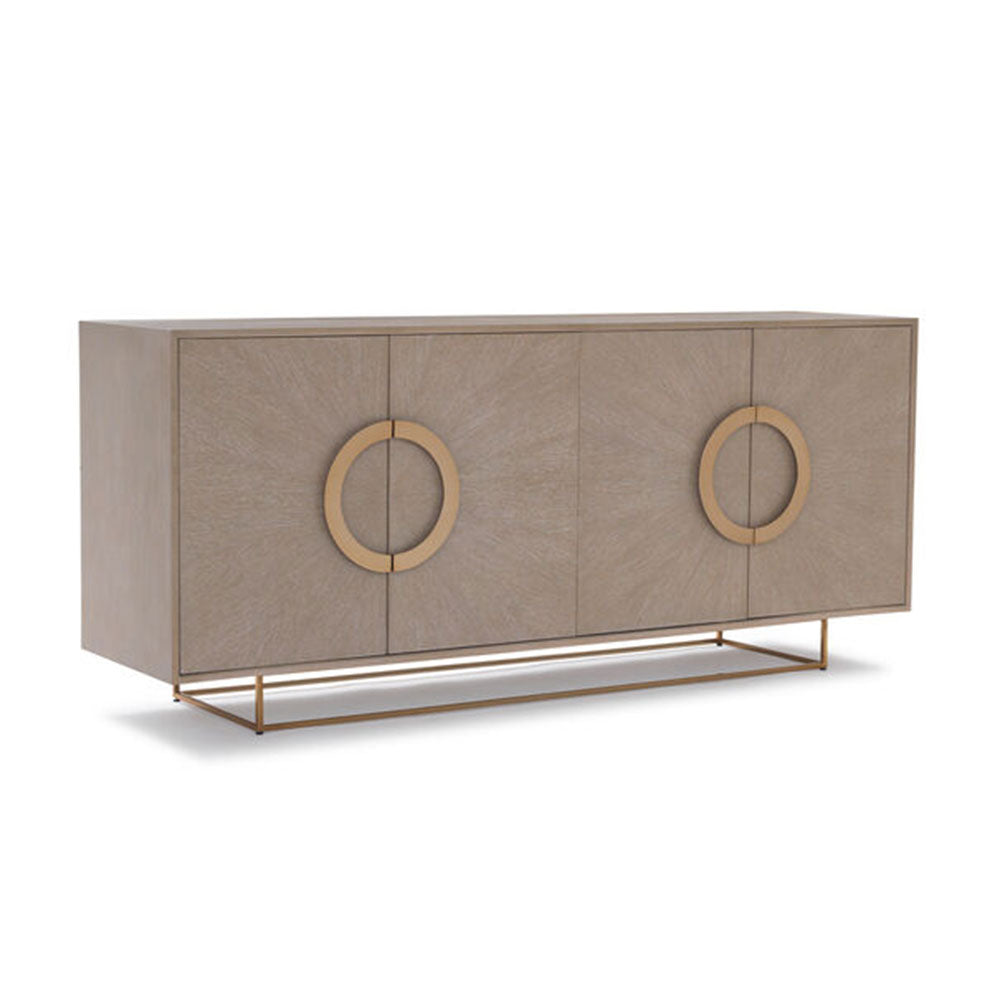 Lisbon Media Console - Natural