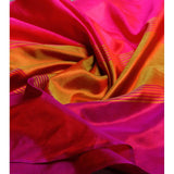 Multicoloured Silk Scarf - rang