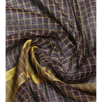 Purple Handloom Cotton Saree (100000055387) - rangoutlet.com