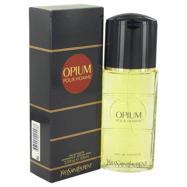 OPIUM by Yves Saint Laurent Eau De Toilette Spray 3.3 oz for Men - rangoutlet.com
