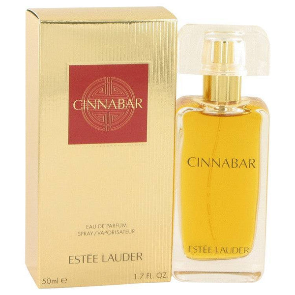 CINNABAR by Estee Lauder Eau De Parfum Spray (New Packaging) 1.7 oz for Women - rangoutlet.com