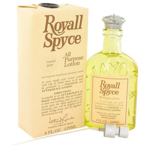 ROYALL SPYCE by Royall Fragrances All Purpose Lotion / Cologne 4 oz for Men - rangoutlet.com