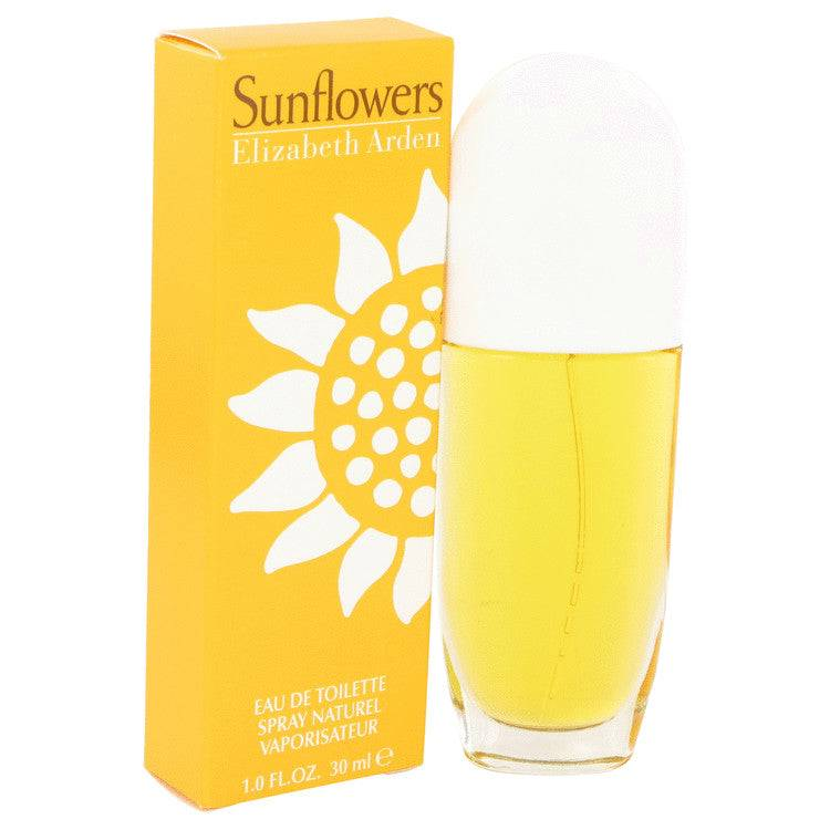 SUNFLOWERS by Elizabeth Arden Eau De Toilette Spray 1 oz for Women - rangoutlet.com