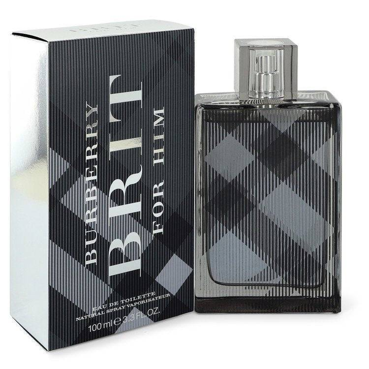 Burberry Brit by Burberry Eau De Toilette Spray 3.4 oz for Men - rangoutlet.com
