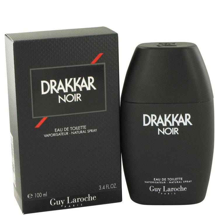DRAKKAR NOIR by Guy Laroche Eau De Toilette Spray 3.4 oz for Men - rangoutlet.com