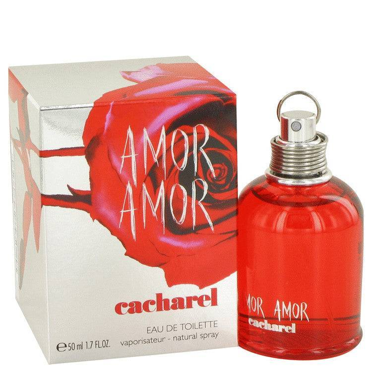 Amor Amor by Cacharel Eau De Toilette Spray 1.7 oz for Women - rangoutlet.com