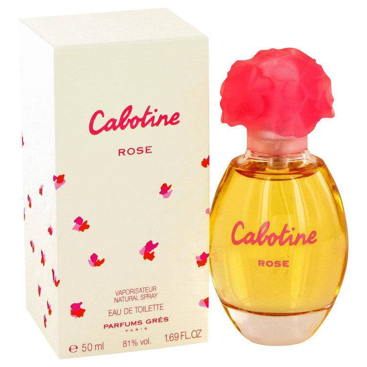 Cabotine Rose by Parfums Gres Eau De Toilette Spray 1.7 oz for Women - rangoutlet.com