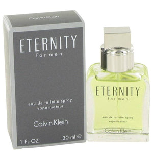 ETERNITY by Calvin Klein Eau De Toilette Spray 1 oz for Men
