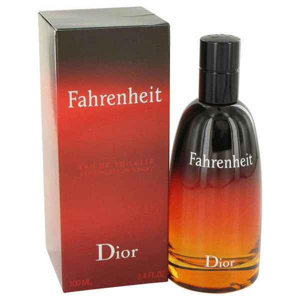FAHRENHEIT by Christian Dior Eau De Toilette Spray 3.4 oz for Men - rangoutlet.com