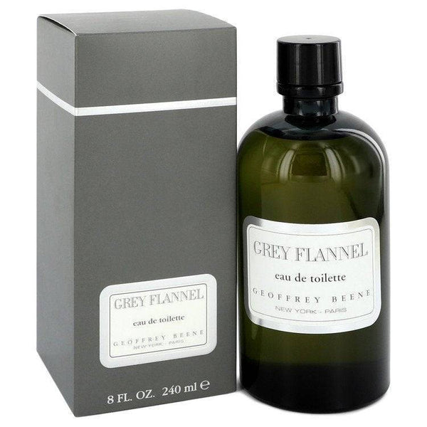 GREY FLANNEL by Geoffrey Beene Eau De Toilette 8 oz for Men