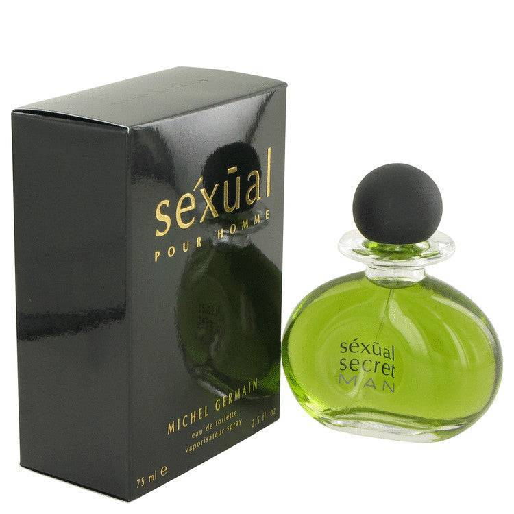 Sexual by Michel Germain Eau De Toilette Spray 2.5 oz for Men - rangoutlet.com