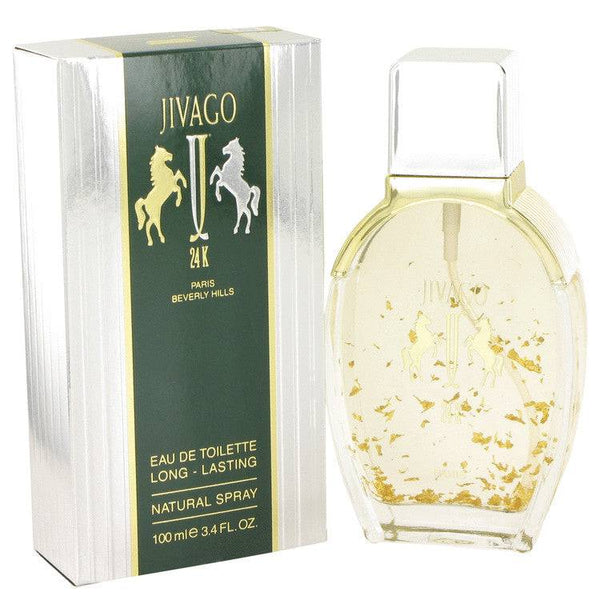 JIVAGO 24K by Ilana Jivago Eau De Toilette Spray 3.4 oz for Men - rangoutlet.com