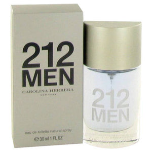212 by Carolina Herrera Eau De Toilette Spray (New Packaging) 1 oz for Men - rangoutlet.com