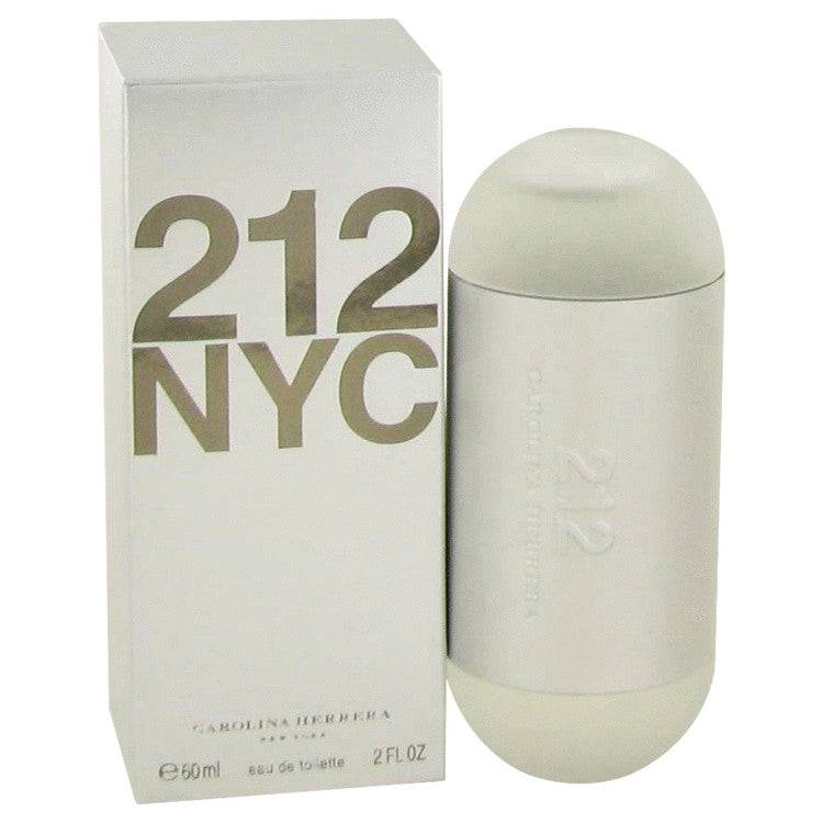 212 by Carolina Herrera Eau De Toilette Spray (New Packaging) 2 oz for Women - rangoutlet.com