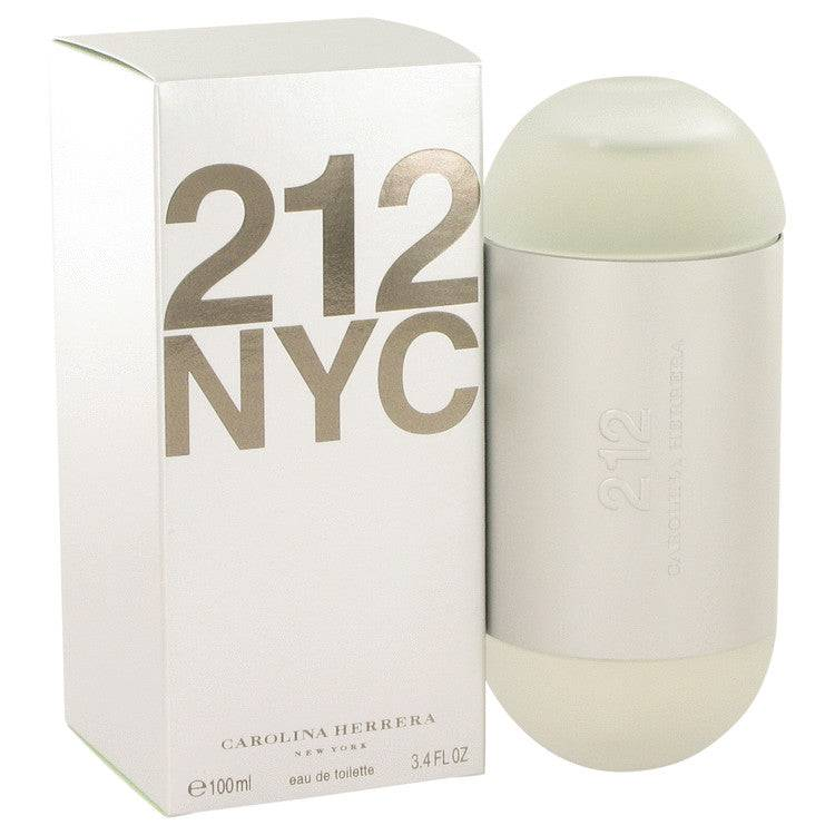 212 by Carolina Herrera Eau De Toilette Spray (New Packaging) 3.4 oz for Women - rangoutlet.com
