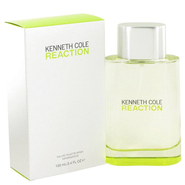 Kenneth Cole Reaction by Kenneth Cole Eau De Toilette Spray 3.4 oz for Men - rangoutlet.com