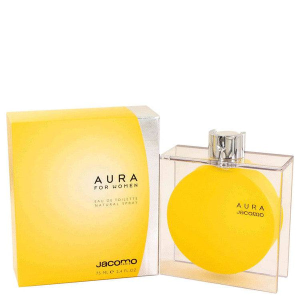 AURA by Jacomo Eau De Toilette Spray 2.4 oz for Women - rangoutlet.com