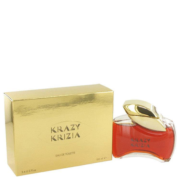 KRAZY KRIZIA by Krizia Eau De Toilette 3.4 oz for Women - rangoutlet.com