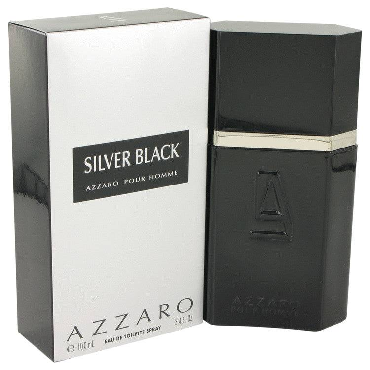 Silver Black by Azzaro Eau De Toilette Spray 3.4 oz for Men - rangoutlet.com