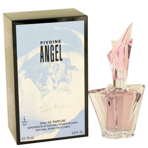Angel Peony by Thierry Mugler Eau De Parfum Spray Refillable .8 oz for Women - rangoutlet.com