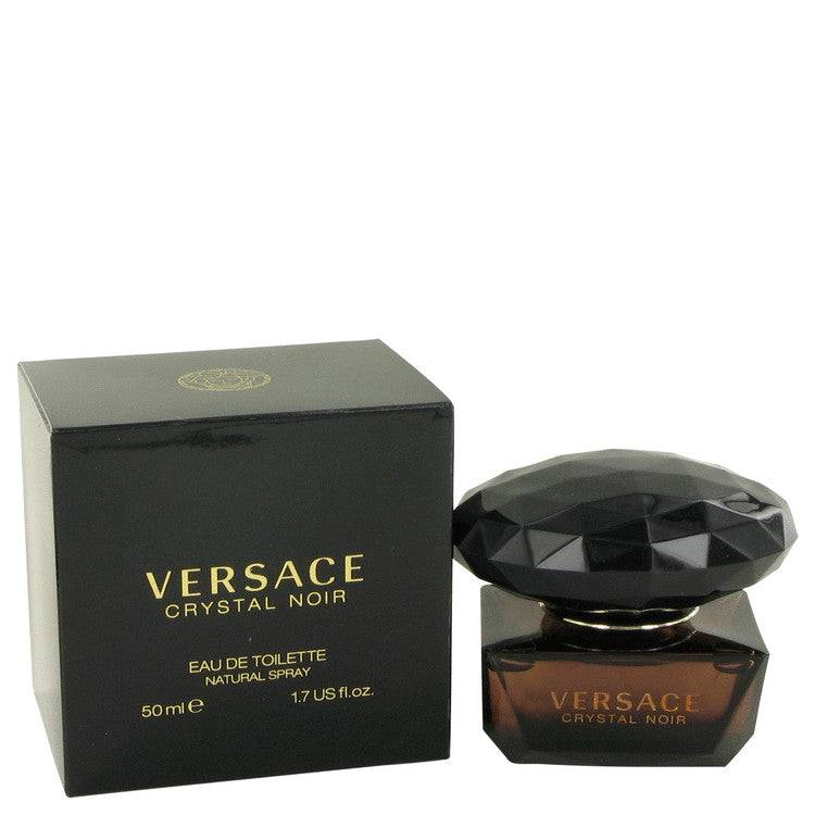 Crystal Noir by Versace Eau De Toilette Spray 1.7 oz for Women - rangoutlet.com