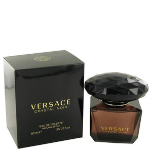 Crystal Noir by Versace Eau De Toilette Spray 3 oz for Women - rangoutlet.com