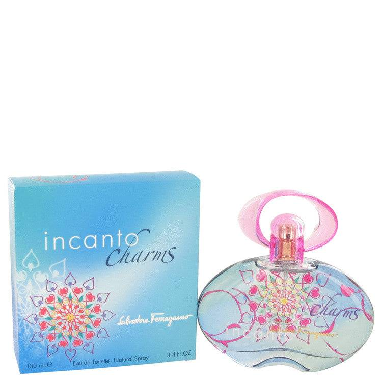 Incanto Charms by Salvatore Ferragamo Eau De Toilette Spray 3.4 oz for Women - rangoutlet.com