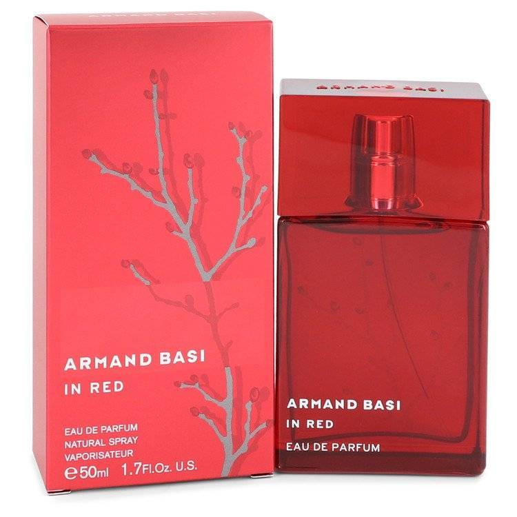 Armand Basi in Red by Armand Basi Eau De Parfum Spray 1.7 oz for Women