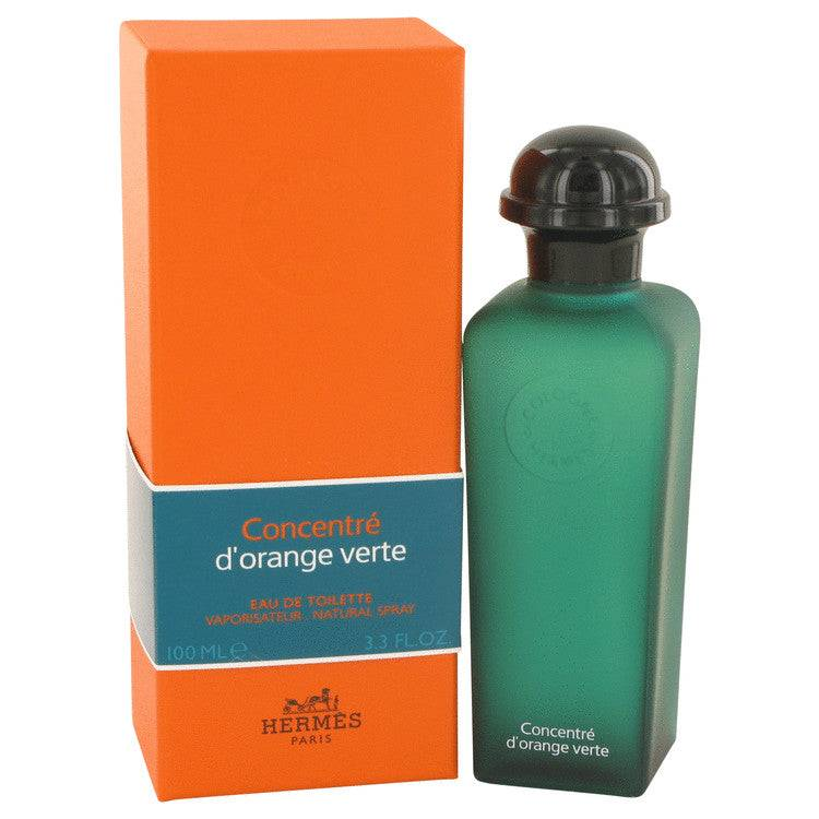 EAU D'ORANGE VERTE by Hermes Eau De Toilette Spray Concentre (Unisex) 3.4 oz for Men - rangoutlet.com