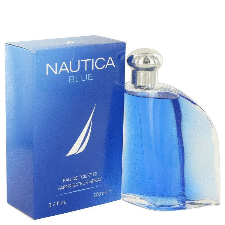 NAUTICA BLUE by Nautica Eau De Toilette Spray 3.4 oz for Men - rangoutlet.com