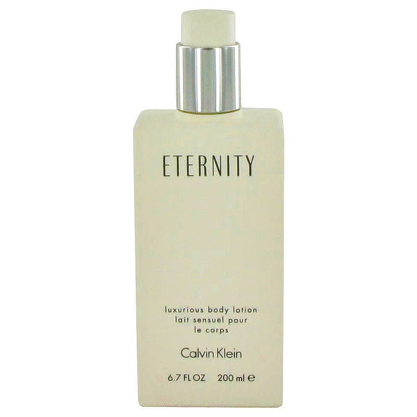 ETERNITY by Calvin Klein Body Lotion (unboxed) 6.7 oz for Women - rangoutlet.com