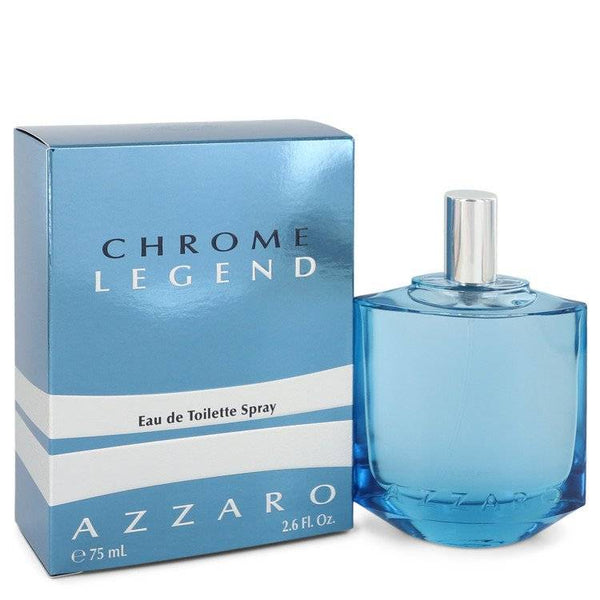 Chrome Legend by Azzaro Eau De Toilette Spray 2.6 oz for Men - rangoutlet.com