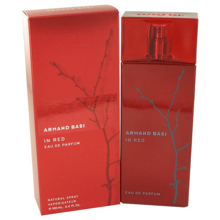Armand Basi in Red by Armand Basi Eau De Parfum Spray 3.4 oz for Women - rangoutlet.com