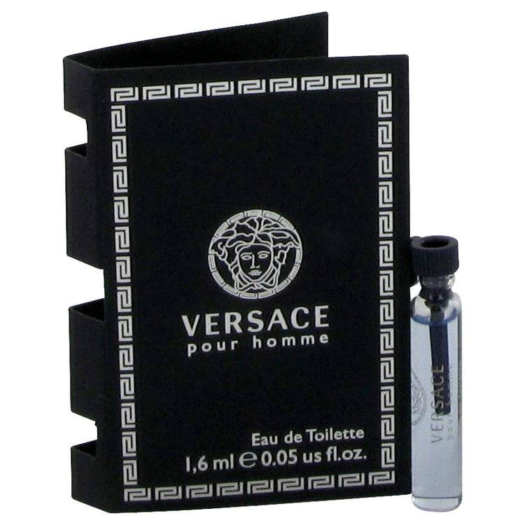Versace Pour Homme by Versace Vial (sample) .06 oz for Men - rangoutlet.com