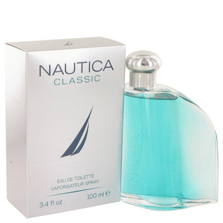 Nautica Classic by Nautica Eau De Toilette Spray 3.4 oz for Men - rangoutlet.com