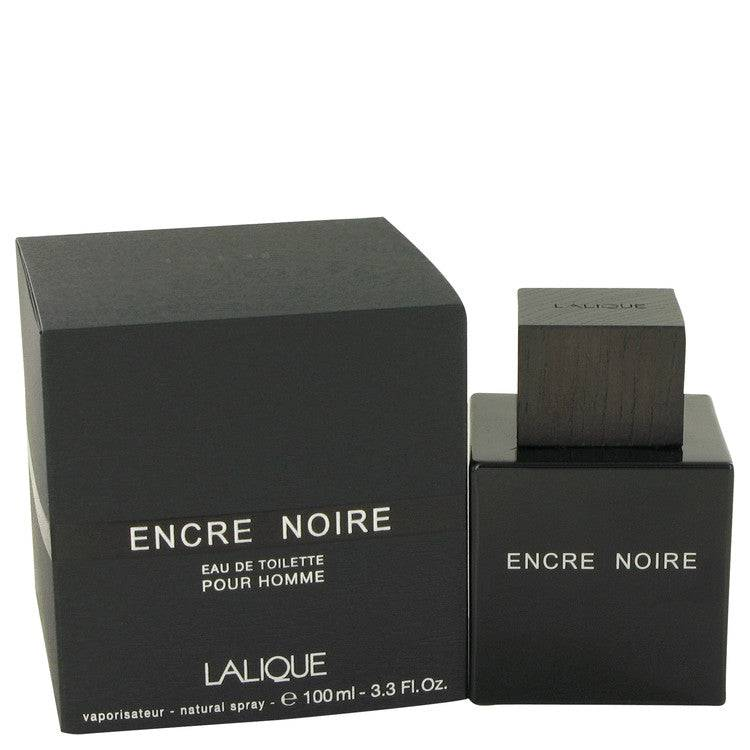 Encre Noire by Lalique Eau De Toilette Spray 3.4 oz for Men - rangoutlet.com