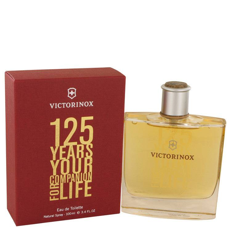 Victorinox 125 Years by Victorinox Eau De Toilette Spray (Limited Edition) 3.4 oz for Men - rangoutlet.com