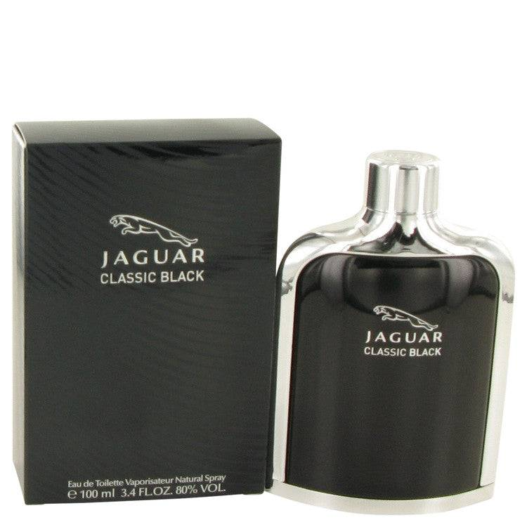Jaguar Classic Black by Jaguar Eau De Toilette Spray 3.4 oz for Men