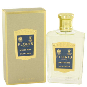 Floris White Rose by Floris Eau De Toilette Spray 3.4 oz for Women - rangoutlet.com